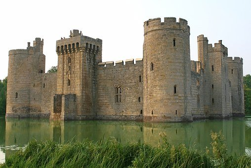 Castle, Entrance, Fortress, History, Medieval