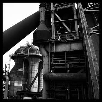Blast Furnace, Industry, Work, Loved, Metal