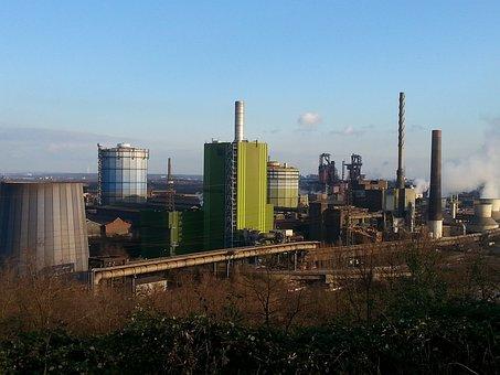 Duisburg, Industry, Steel, Ruhr Area, Landscape Park