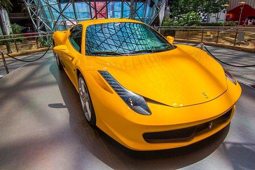 Ferrari, F458, Sports Car, Italy, Expensive, Speed