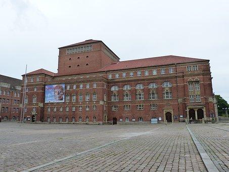 Kiel, Mecklenburg, Opera, Opera House, Theater, Space