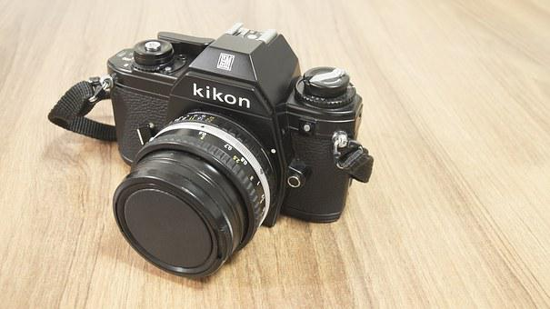 Nikon, Dslr, Slr, Lens, Camera, Black, Equipment, Focus