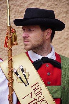 Musician, Mayor, Altoadige, Südtirol, Costume, Man