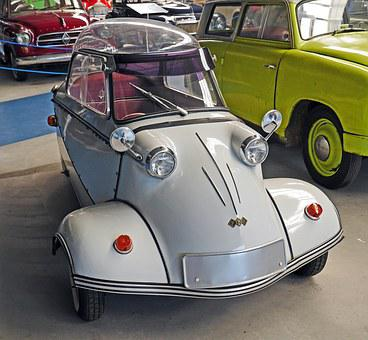 Messerschmidt, Cabin Scooter, Tricycle