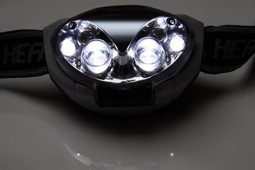 Headlamp, Mobile, Mains Independent, Light Source