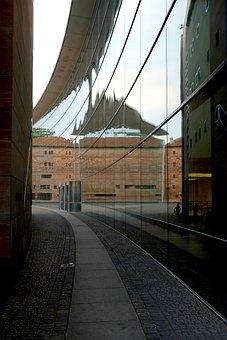 Building, Modern, Architecture, Mirroring, Facade