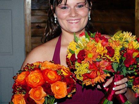 Wellington, Ohio, Flower Girl, Fall Wedding