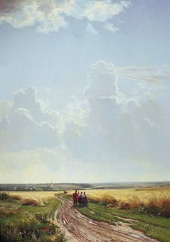 Ivan Shishkin, Painting, Art, Oil On Canvas, Artistic