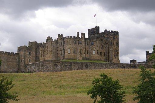 Castle, Hogwarts, Northumberland, Potter, Harry