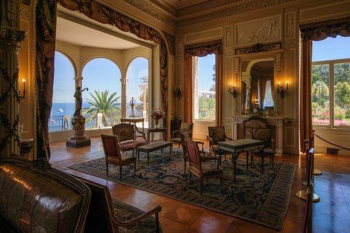 Room, Exhibition, Splendor, Rothschild Villa, France
