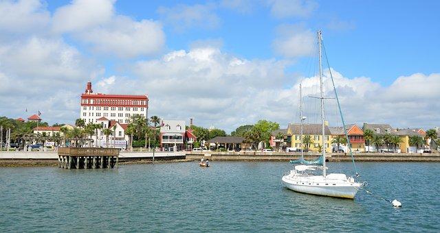 St Augustine Florida, Landscape, River Front, Scenic