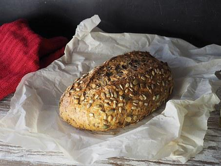 Bread, Nuts, Seeds, Parchment, Baking, Towel, Food