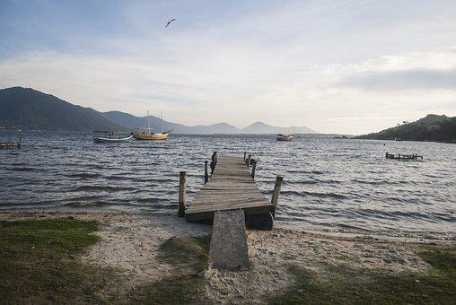 Florianópolis, Sc, Sea, Brazil, Florianopolis, Sky