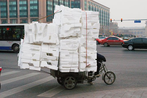 Tricycle, Cargo, Carrier, Transport, Transportation