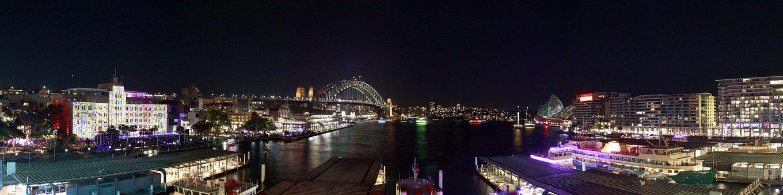 Sydney, Australia, Night, City, Harbour, Travel, Harbor