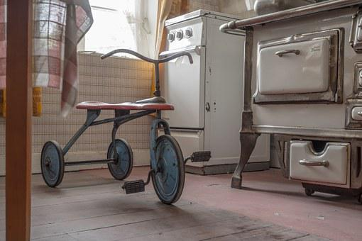 Tricycle, Retro, Kitchen, Stove, Nostalgia, Antique