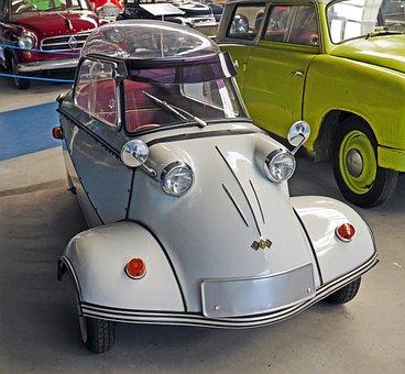 Messerschmidt, Cabin Scooter, Tricycle
