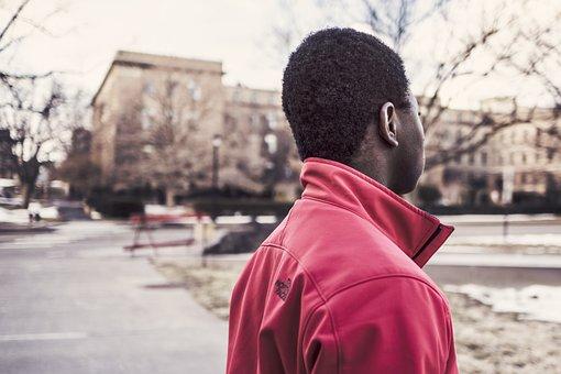 Afroamerican, Man, Black, People, Usa, America