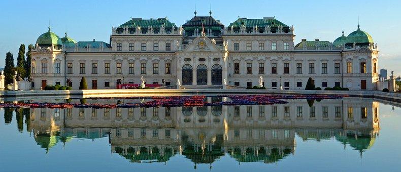 Belvedere, Castle, Baroque, Vienna, Upper Belvedere