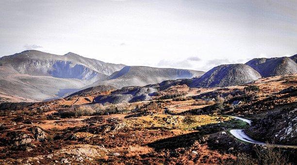 Yr Wyddfa, Snowdon, Wales, Snowdonia, Wyddfa, Landscape