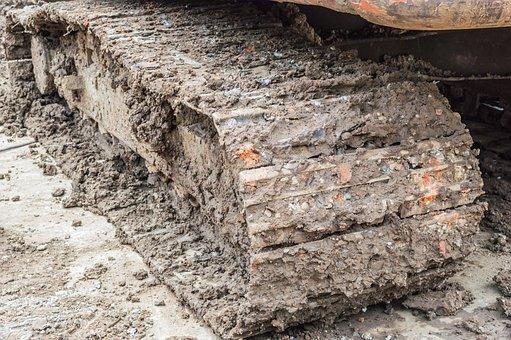 Mud, Stuck, Construction, Equipment, Wheel, Loader