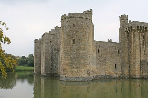 Castle, Fortified Structure, Windows, Old Buildin