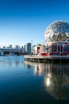 Vancouver, Canada, Port, Water, City, Metropolis