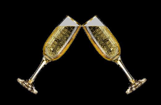 Champagne Glasses, Champagne, Champagne Glass, Png