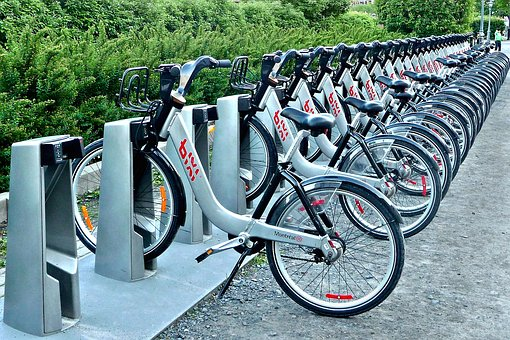 Bike, Transport, Bicycle, Two Wheels, City, Montréal