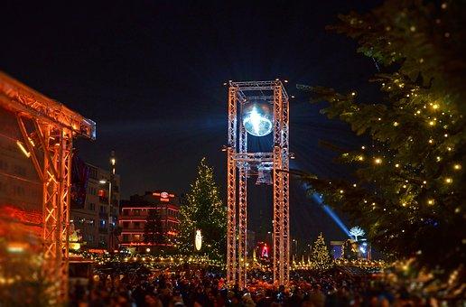 Christmas Market, St Pauli, Hamburg, Reeperbahn