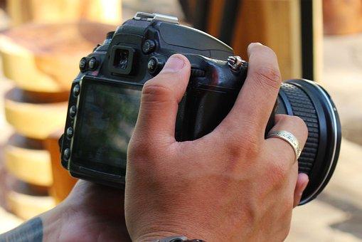 Hand, Camera, Photo, Photography, Digital, Equipment