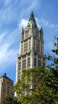 Woolworth Building, Manhattan, Skyscraper, New York, Ny