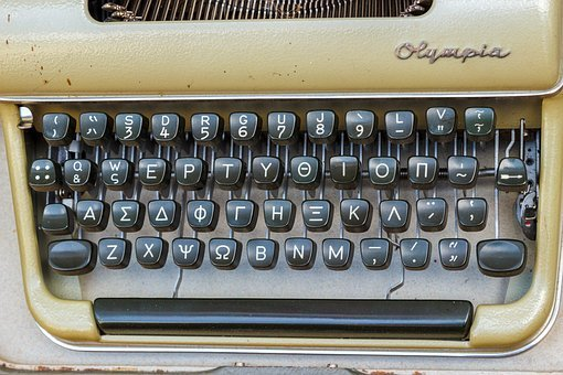Typewriter, Old, Retro, Office, Mechanically, Keys