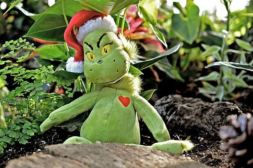 Grinch, Green, Christmas, Holiday, Xmas, Winter, Season