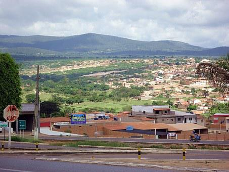 Vista, City, Chapada Diamantina