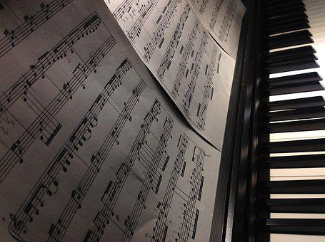 Piano, Music, Notes, Keys, Keyboard, Plan