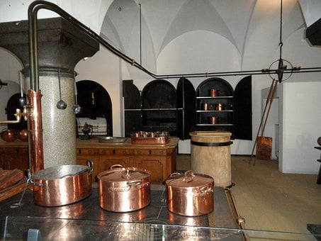 Kitchen, Old, Museum, Museum Kitchen, Palace Kitchen