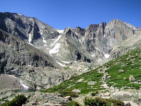 Colorado, Rocky Mountains, Scenic, Snow, Sky, Nature