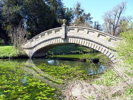 Water, Chinese, Bridge, Stone, English Heritage