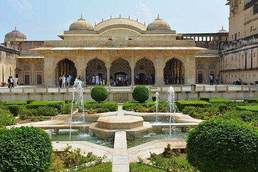 Amer Fort, Rajasthan, India, Fort, Travel, Jaipur