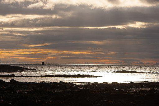 Sunset, Scotland, Dumfries And Galloway, Sky, Tourism