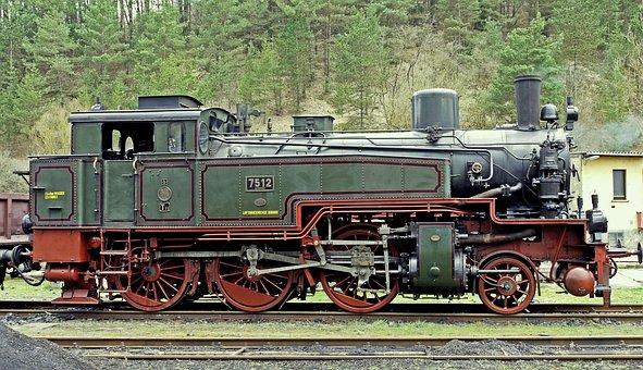 Steam Locomotive, Prussian, T11, Operational, Wet Steam