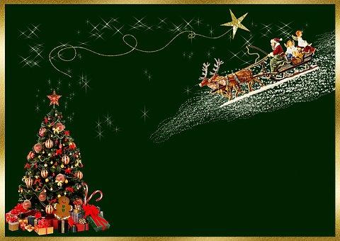 Christmas Card, Background Image, Christmas Greeting