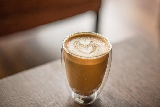 Flower, Art, Coffee, Drink, Coffee Shop, Latte, Italian