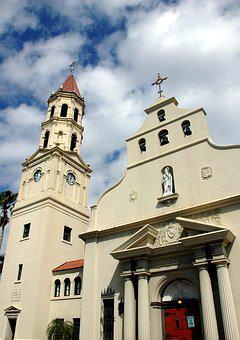 Basilica, Cathedral, Historic, St Augustine, Florida