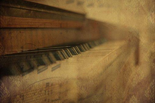 Texture, Background, Piano, Instrument