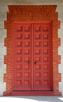 Church, Door, Old, Historic, Doorway, Architecture