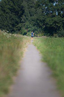 Outside, Running, Field, Shape, Condition, Run, Fit