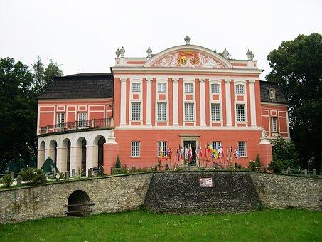Poland, Palace, Castle, Kurozwęki