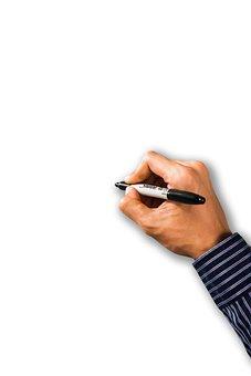Psd, Writing Hand, Write, Writing, Hand Writing, Hand